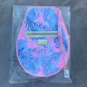 🌺NIP Lilly Pulitzer GWP Tennis Racket Cover🌺